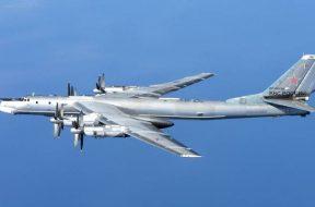 RAF Typhoons intercept Russian Bear Aircraft