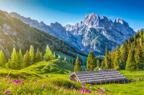 Švicarska, alpe