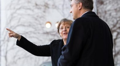 Merkel i Plenković