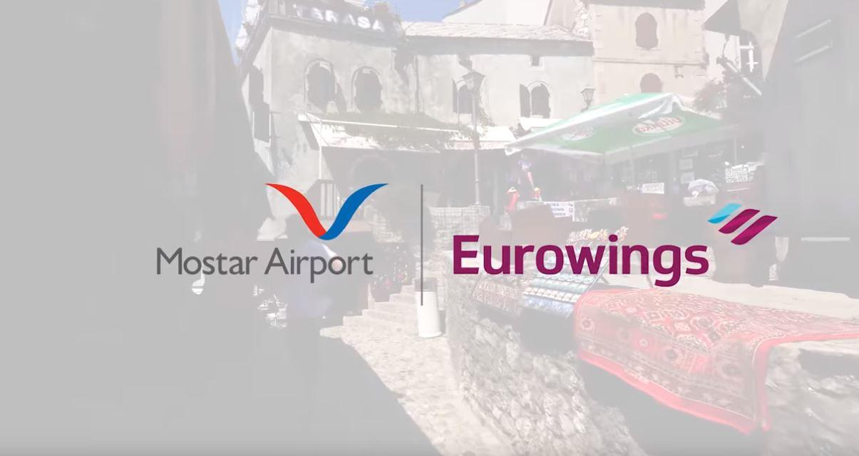Eurowings do aprila obustavlja letove iz Mostara