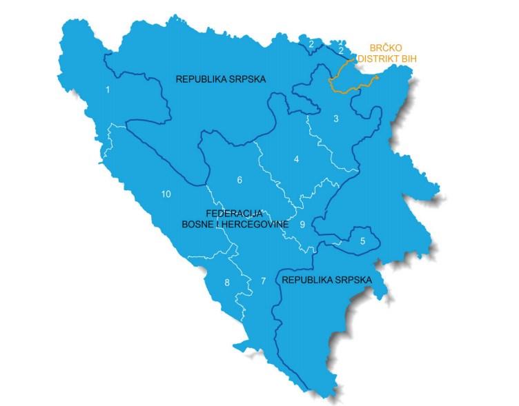 Bosna i Hercegovina u brojkama