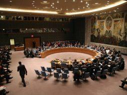 Ukrainian Prime Minister Arseniy Yatsenyuk Addresses UN Security Council