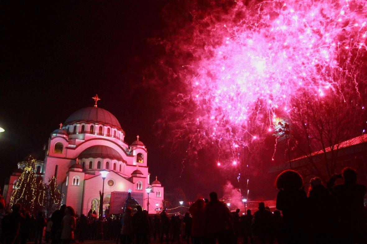 Pravoslavci dočekuju Novu godinu, širom BiH organizovani koncerti na otvorenom