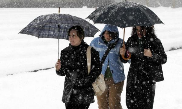 Krajem dana širom BiH se očekuju susnježica i snijeg