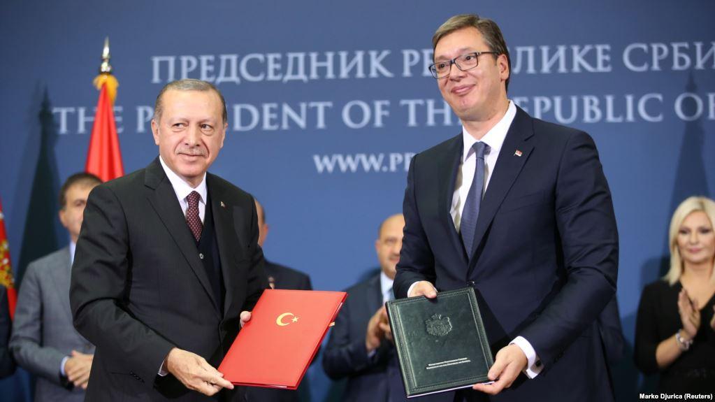 Aleksandar Vučić danas sa Recepom Tayyipom Erdoganom