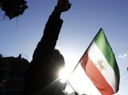 CORRECTION Italy Iran Protest