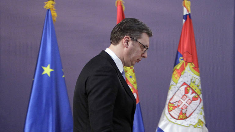 Vučić tvrdi da Srbija ima potporu SAD-a u rješavanju spora o taksama s Kosovom