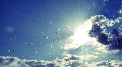 kisa i sunce