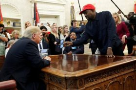 Kanye West napravio show na sastanku sa Trumpom (VIDEO)