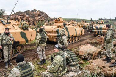 Turska gomila vojsku na granici sa Sirijom