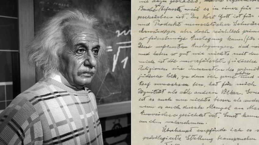 """Ručno napisano """"Božije pismo"""" Alberta Einsteina prodato na aukciji za 2,9 miliona dolara"""