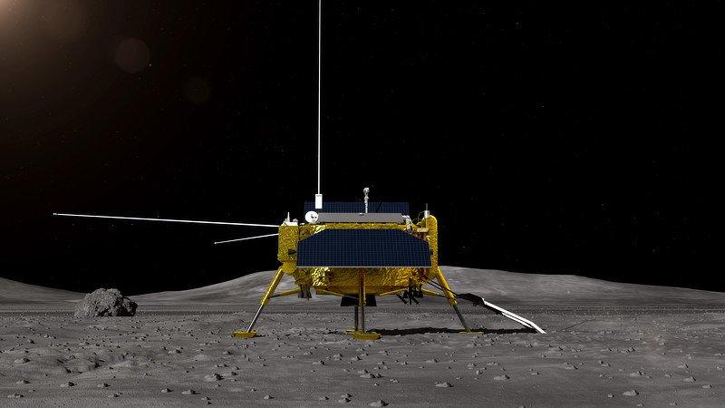 """Kineska svemirska letjelica sletjela na """"tamnu stranu"""" Mjeseca"""
