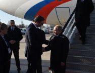 Putin doputovao u Beograd