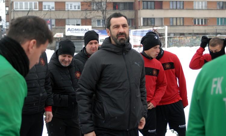 Počele pripreme nogometaša Slobode