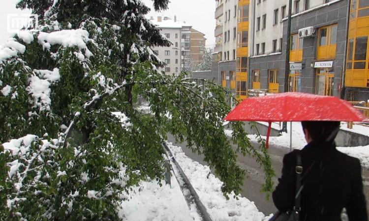Narednih dana oblačno sa slabim snijegom