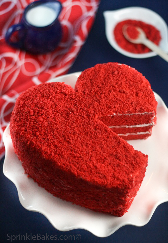 Red Velvet torta je idealan desert za Valentinovo