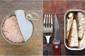 tunjevina sardina konzerva
