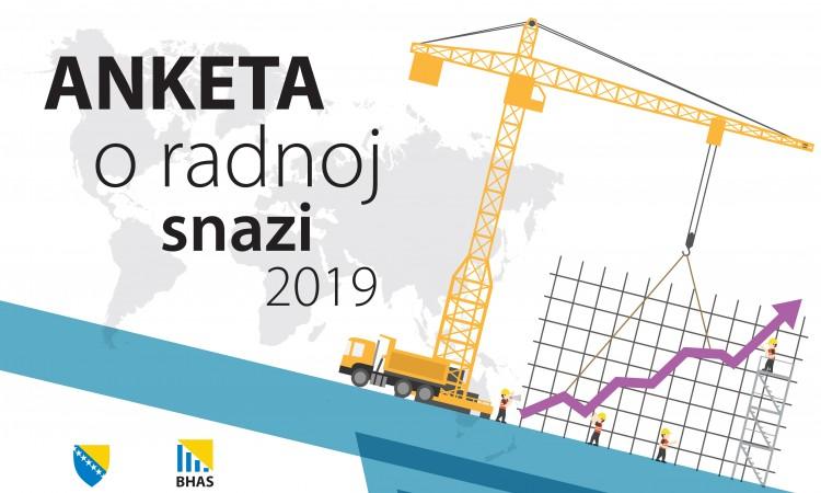 Počinje anketa o radnoj snazi u BiH za 2019.