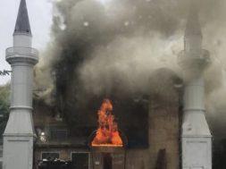 zapaljenja džamija požar sad