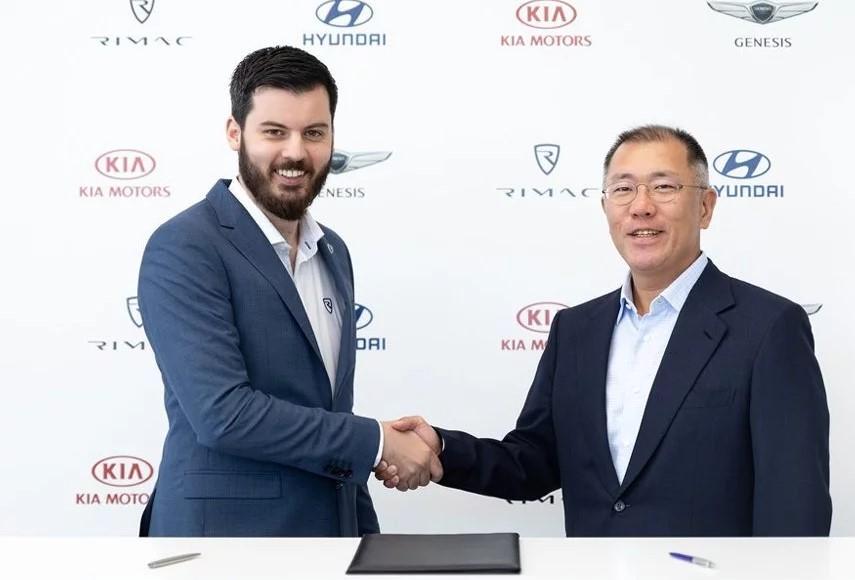 Hyundai i KIA ulažu 80 miliona eura u kompaniju Rimac Automobili