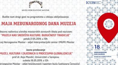 Muzej Hercegovine obilježava Međunarodni dan i Evropsku noć muzeja