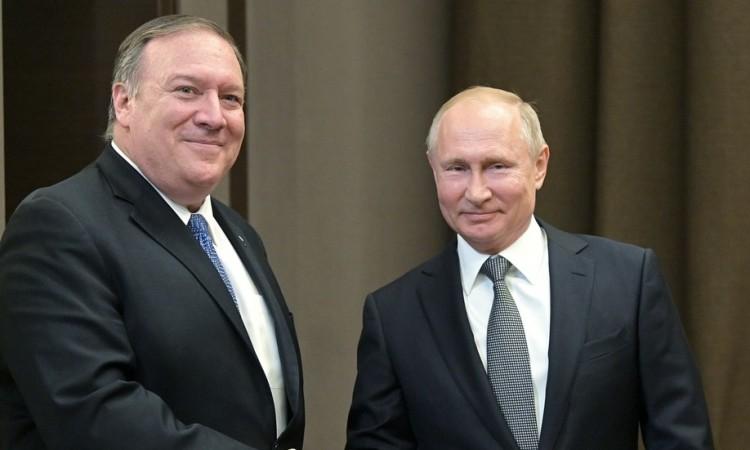 Putin i Pompeo naglasili bolje odnose SAD-a i Rusije uprkos brojnim neslaganjima