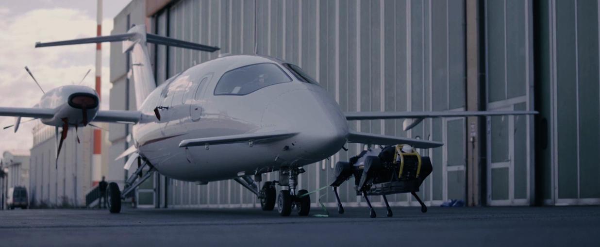 Video: Pas robot vukao tri tone težak putnički avion na aerodromu u Italiji