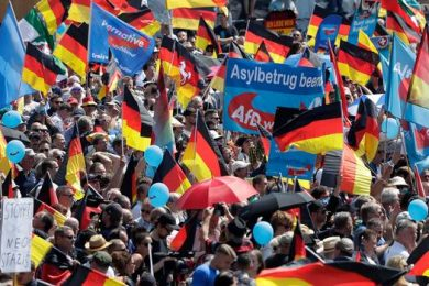 njemačka protest