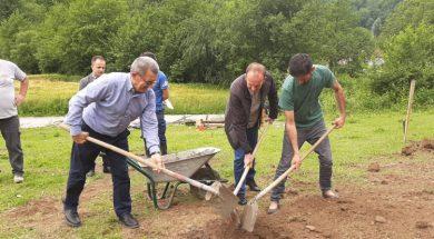 Bratunac – Počela izgradnja kuće Fahrudinu Muminoviću