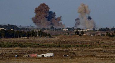 Izrael_Golan_raketiranje_Sirije_Xinhua
