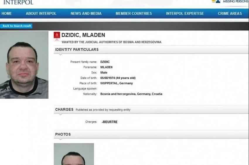 Osuđeni ubica i bjegunac iz mostarskog zatvora Mladen Džidić uhapšen u Hrvatskoj