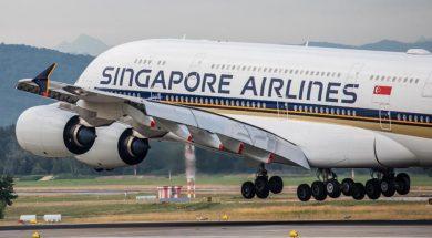 singapur avion