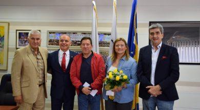 OKBiH nagradio Larisu Cerić sa 10.000 KM za evropsko srebro u Minsku