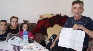 Samohranom i bolesnom ocu šestero djece potrebna pomoć