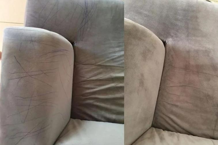 Brzo i jednostavno očistite mrlje od hemijske olovke na kauču