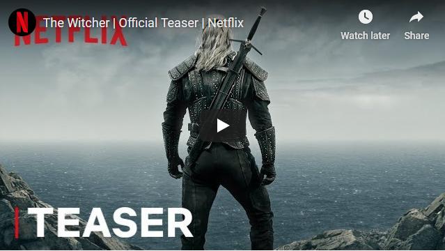 """Objavljen prvi teaser serije """"The Witcher"""" za koju se vjeruje da će naslijediti GOT"""