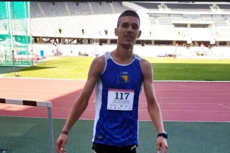 Mrkanović u finalu juniorskog EP-a na 3.000 metara stipl zauzeo 8. mjesto