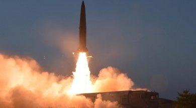 balistička raketa sjeverna koreja