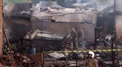 pakistan avionska nesreća