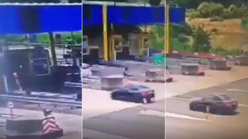 Uhapšen vozač koji se sa 150 km/h zabio u vozilo na naplatnoj kućici u Hrvatskoj