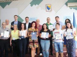 Dobitnici medalja za kvalitet Sajma sljive 2019.