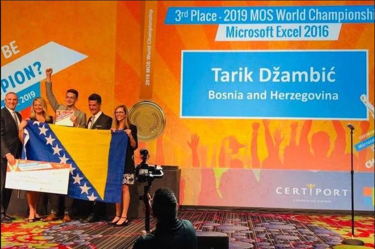 BiH osvojila treće i peto mjesto na Svjetskom Microsoft Office prvenstvu
