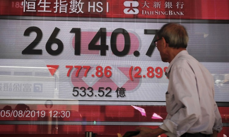 Azijska tržišta – Oštar pad indeksa, brinu Hong Kong i Argentina