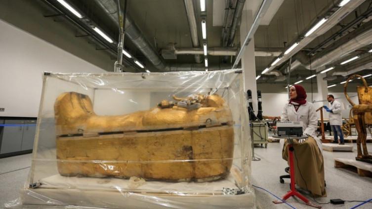 Pogledajte kako izgleda Tutankamonov sarkofag