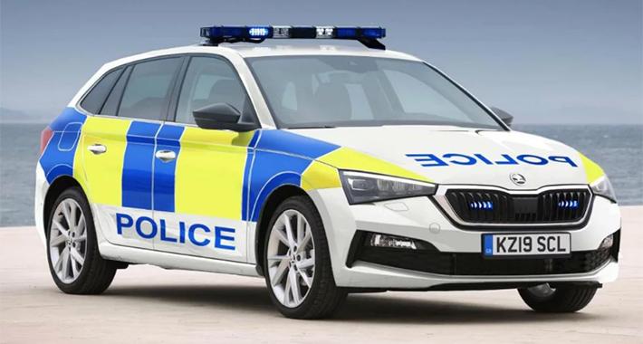 Britanska policija izabrala novi automobil – Škodu