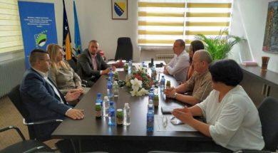 Ministrica Dilberović u Tuzli o kapitalnim projektima u oblasti obrazovanja