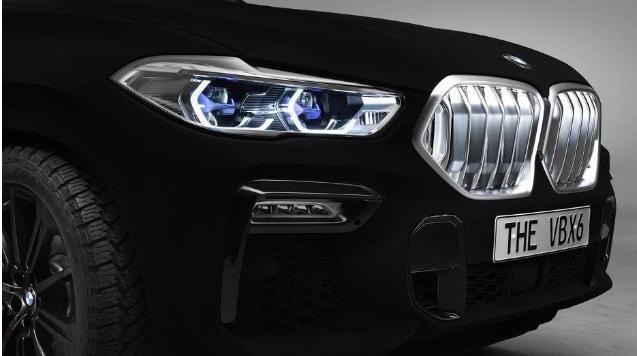BMW X6 Vantablack ofarban je u najcrnju crnu boju na svijetu