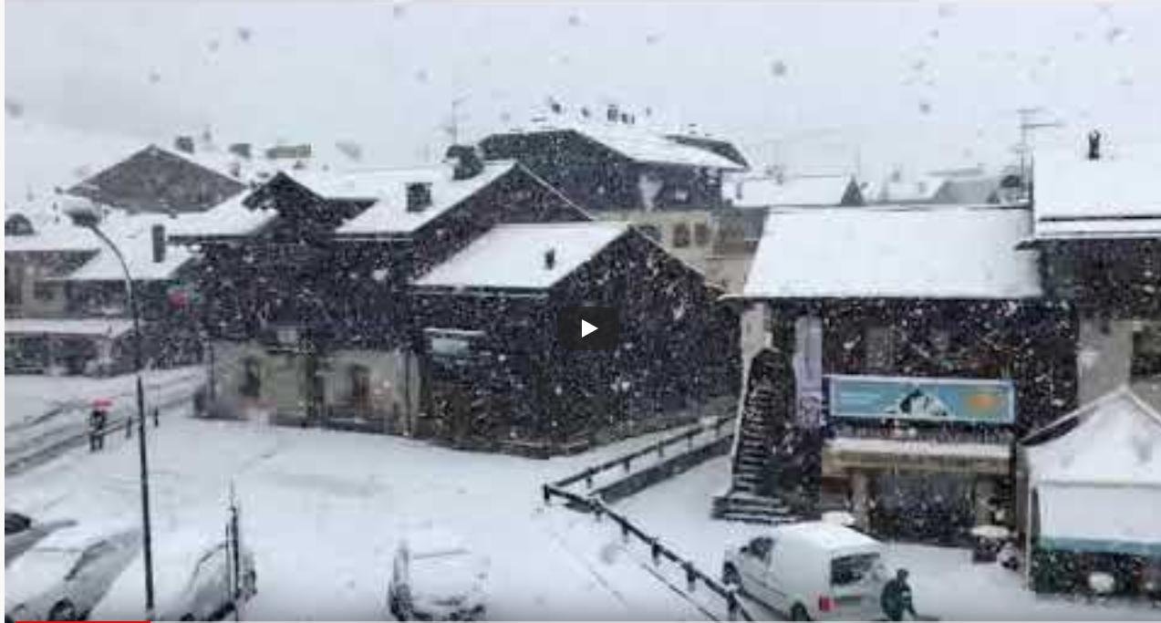 Pao snijeg u Austriji i Italiji, planine se zabijelile