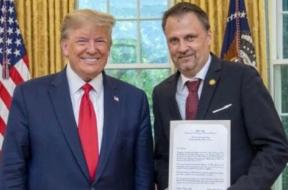 Screenshot_2019-09-18 Bojan Vujić novi ambasador BiH u Americi, Trump mu poželio dobrodošlicu