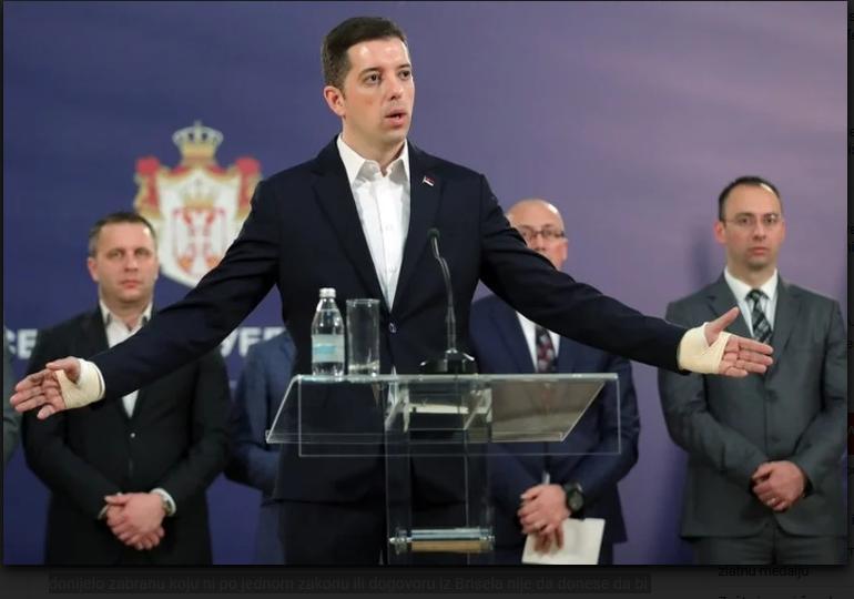 Srbija žestoko osudila odluku o zabrani ulaska srpskim zvaničnicima na Kosovo